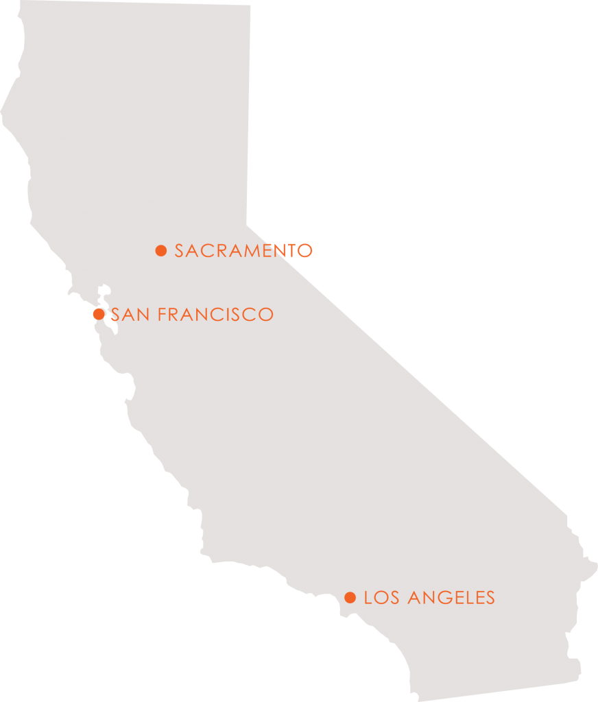 Office Locations & Contact Map